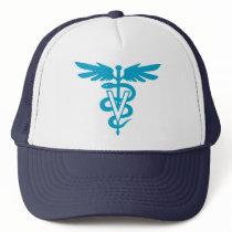 Vet Tech - Veterinary Symbol Trucker Hat