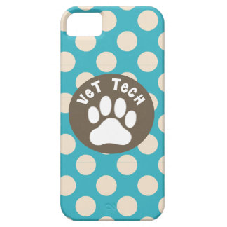 Vet Technician iPhone 5 Case Paw Print