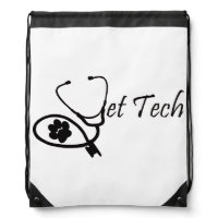 vet teck drawstring backpack