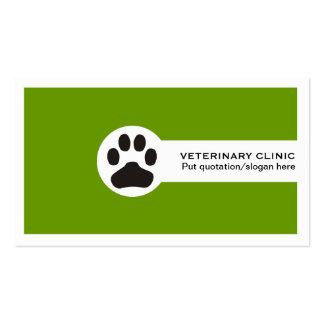 Vet/Veterinary Clinic minimalist business cards