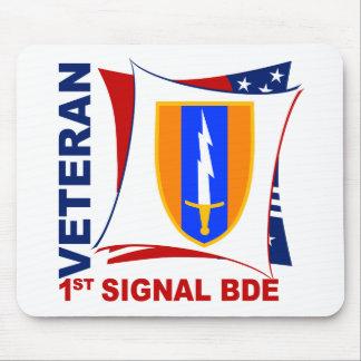 Veteran - 1st Sig Bde Mouse Pad