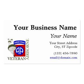 Veteran 82nd Airborne Business Card