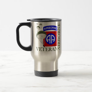 Veteran 82nd Airborne Travel Mug