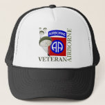 """Veteran 82nd Airborne Trucker Hat<br><div class=""""desc"""">For our proud veterans of the 82nd Airborne.</div>"""