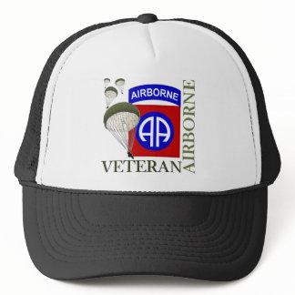 Veteran 82nd Airborne Trucker Hat