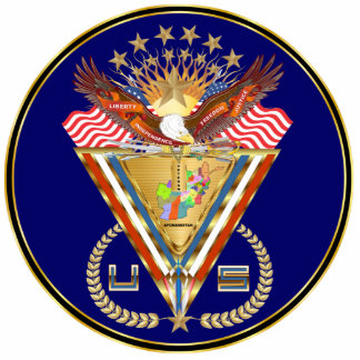 Veteran Afghanistan View about Design Cutout