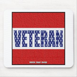 Veteran Banner Mouse Pad