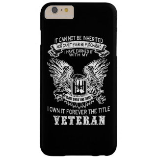 Veteran Barely There iPhone 6 Plus Case