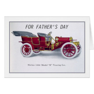 Veteran car greeting cards