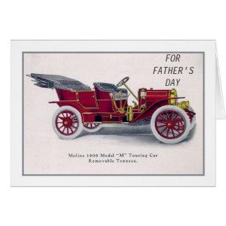 Veteran car greeting card