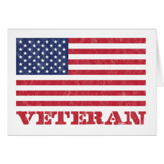 veteran greeting card