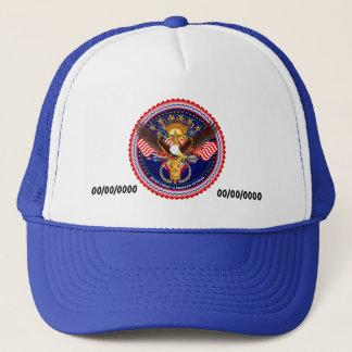 Veteran Customize Edit & Change background color Trucker Hat