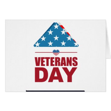 veteran day design card