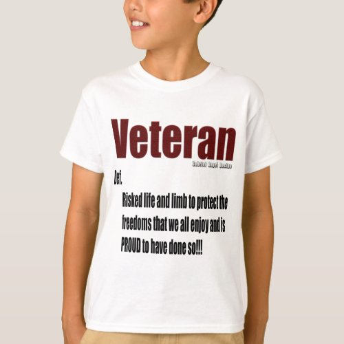 Veteran Definition T_Shirt