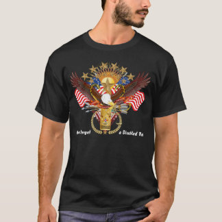 Veteran Disabled F and B Men View About Design T-Shirt