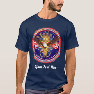 Veteran Disabled Front Men View About Design T-Shirt