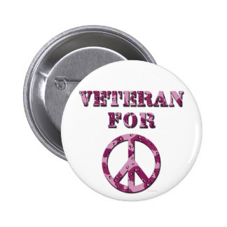 Veteran For Peace Pin