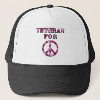 Veteran For Peace Trucker Hat