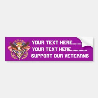 Veteran Friend or Family Member See Notes Plse Car Bumper Sticker