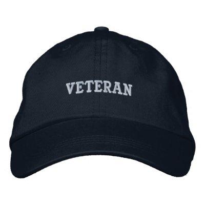 Veteran Hat Embroidered Hat