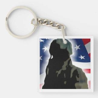 Veteran Hero Keychain
