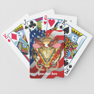Veteran Irag DAV View Artist Comments Below Bicycle Playing Cards