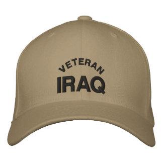 Veteran-Iraq Embroidered Baseball Hat