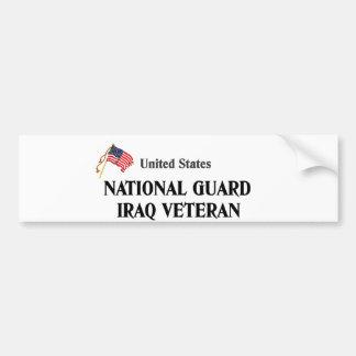 veteran iraq veteran 1 bumper sticker