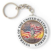 Veteran Keychain