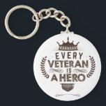 "veteran keychains<br><div class=""desc"">every veteran is a hero</div>"