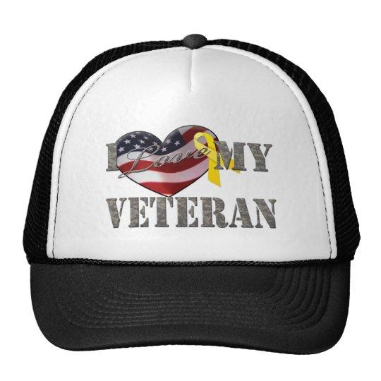 Veteran Love Trucker Hat