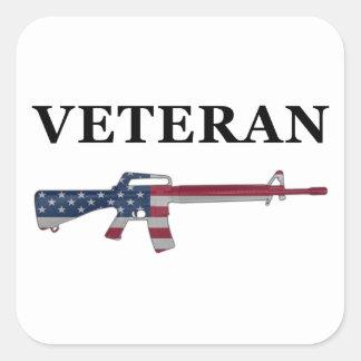 Veteran M16 Sticker