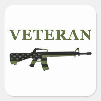 Veteran M16 Sticker Subdued