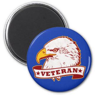 Veteran 2 Inch Round Magnet