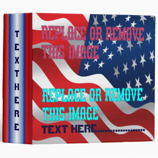 Veteran Memorial Vale of Tears Remembrance 3 Ring Binder