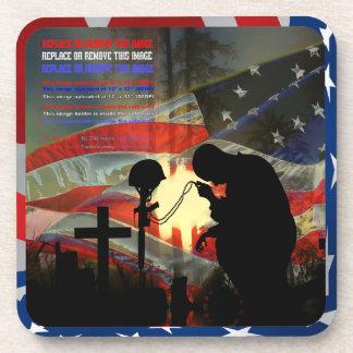 "Veteran Memorial ""Vale of Tears"" Remembrance Coaster"
