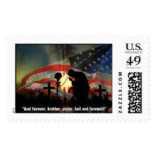 Veteran Memorial Vale of Tears Remembrance Postage