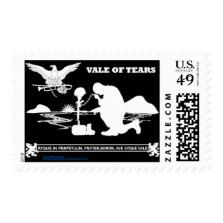 Veteran Memorial Vale of Tears Remembrance Postage