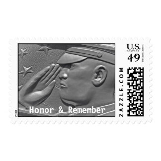 Veteran Military Hero Armed Forces Postage Stamp