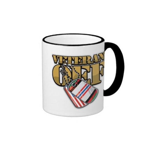 Veteran OEF Dog Tags Mug