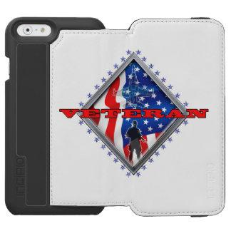 Veteran Proudly Served Incipio Watson™ iPhone 6 Wallet Case