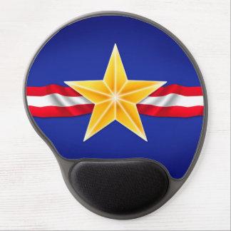 Veteran Star Gel Mousepad