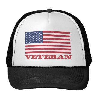 veteran trucker hat