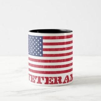 veteran Two-Tone coffee mug