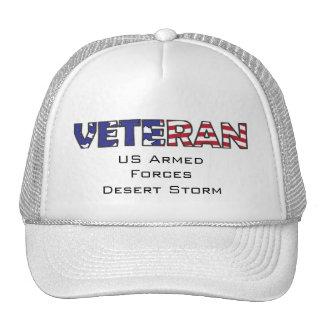 Veteran US Military Trucker Hat