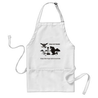 Veteran Vale of Tears Remembrance Adult Apron