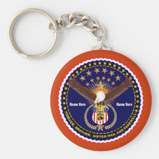 Veteran Vale of Tears Remembrance Over 50 Colors Keychain