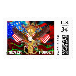 Veteran  View About Design Postage