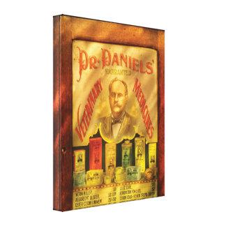 Veteranarian - Dr Daniels, Veterinary Medicines  Stretched Canvas Prints