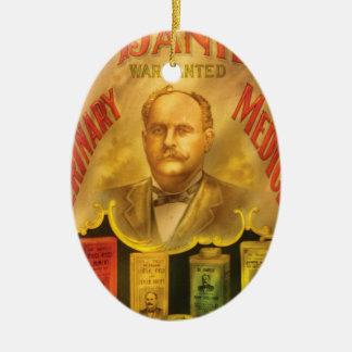 Veteranarian - Dr Daniels, Veterinary Medicines  Christmas Ornament